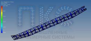 ЛК-П-800-20 расчет рамы